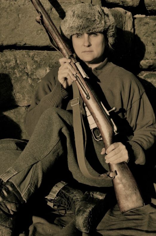 Red Army Female Sniper