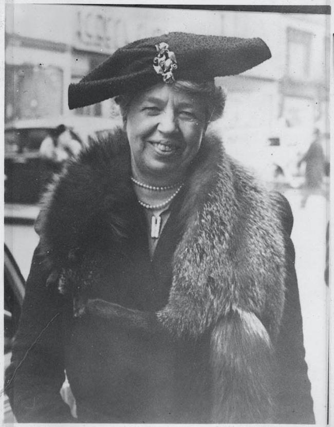 Eleanor Roosevelt Fifth Avenue